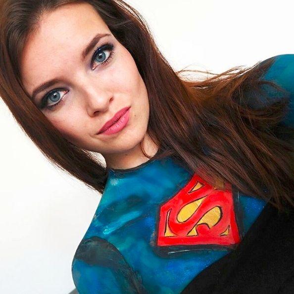 Superwoman - NYX Face Awards 2017 CZ&SK