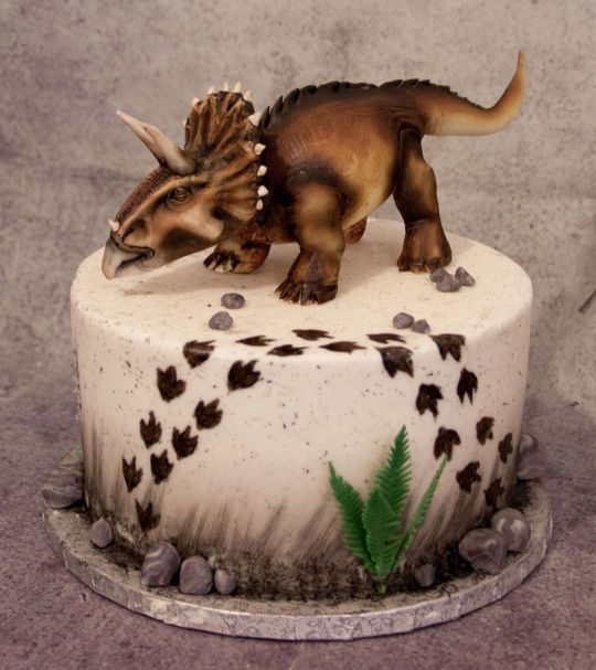 How To Make A D Triceratops Cake
