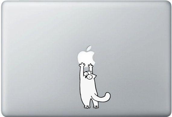 Simon's cat: Pro Decals, Macbook Stickers, Apples Cartoon, Cartoon Heroes, Macbook 11, Macbook Decals, Heroes Decals, Macbook Pro, Decals Stickers