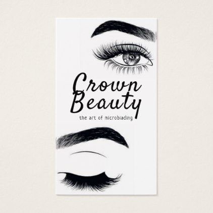 Modern Microblading Eyebrows Permanent Makeup Beauty Style