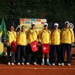 brasileiros na cerimônia de abertura da Nations Cup 2012 em Barcelona