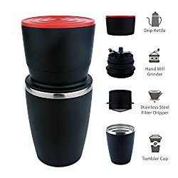 Travel Coffee Maker and Mug - Epic Stocking Stuffers for Mr. Traveler – California Globetrotter