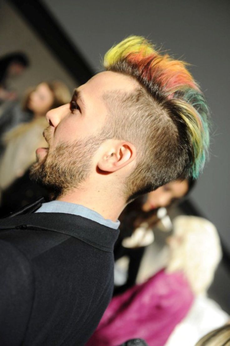 Mens Hairstyles 2014 Hairstyle Men Hair Color Dye Colored Fancy Inspiration Summer