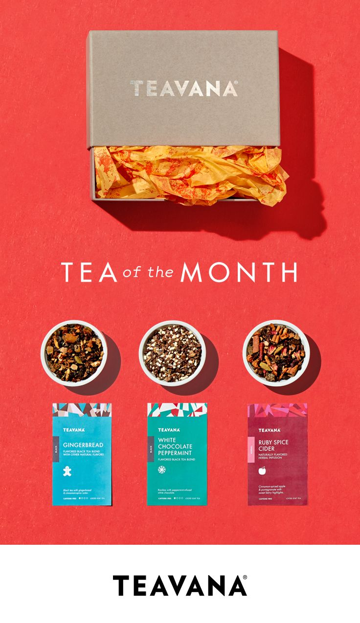 Let Us Pick: Tea of the Month Subscriptions. Our Tea of the Month club is the ideal treat for tea lovers—and anyone who never wants the holidays to end.