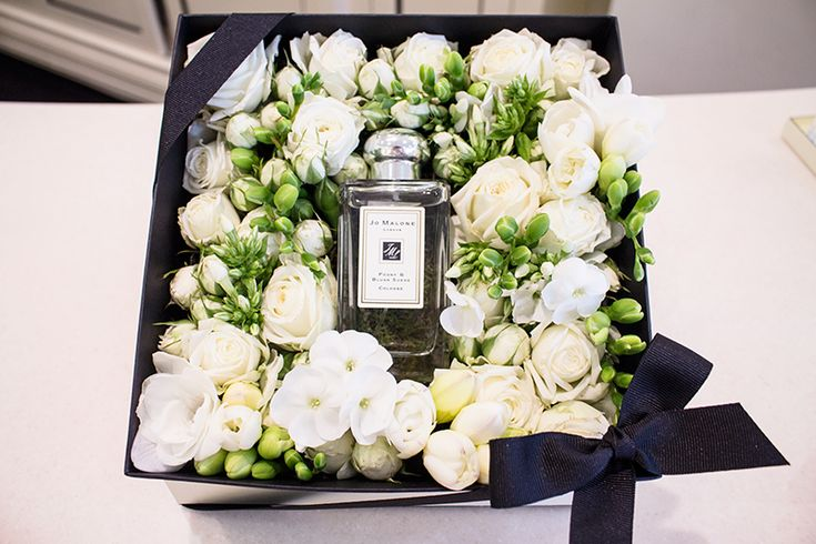 Jo Malone does Mother's Day - love the fresh flower gifting idea.