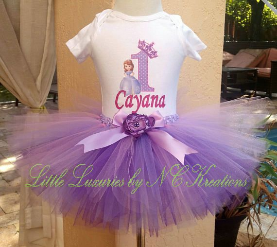 Sophia the First Birthday Tutu Outfit