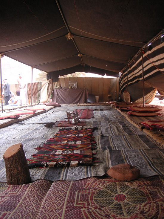Bedouin tent at Wadi Rum