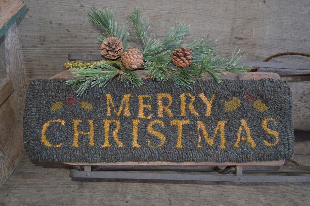 ☆Plumrun Creek☆: Merry Christmas Rug