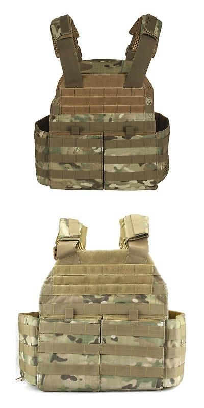 Chest Rigs and Tactical Vests 177891: Voodoo Tactical X-Lite Gen Ii Plate Carrier With Molle Cummerbund, Multicam, 2Xl -> BUY IT NOW ONLY: $125.99 on eBay!