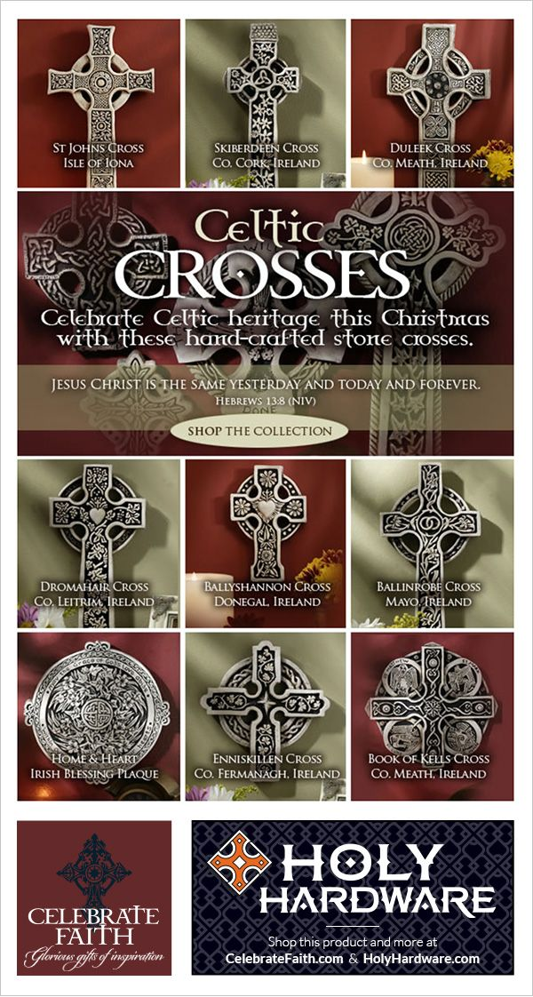 CELTIC CROSSES for Christmas