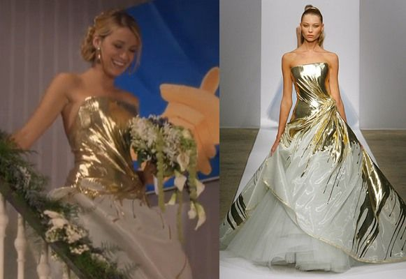 36 best images about fashion seen on tv on pinterest for Georges chakra gold wedding dress price