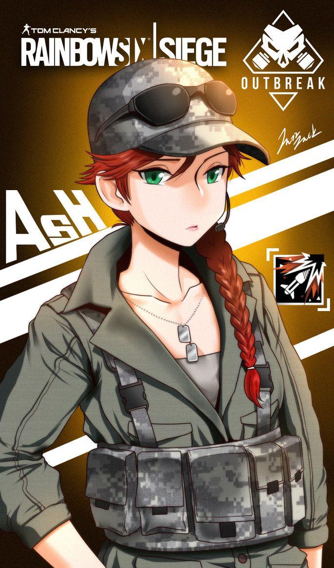 Rainbow Six Siege Elite Skins Ash 2 By Jazzjack Kht Deviantart Com