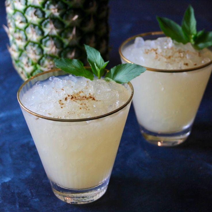 Coco Snowcone Cocktail | Bourbon and Brown Sugar