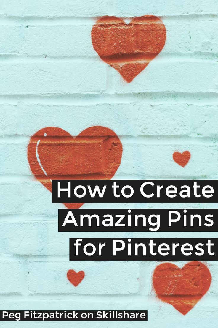 New course: How to create amazing pins for Pinterest using free software. In this class, you'll learn how to create a Pinterest graphic, what size to use, and the optimal way to post your graphics on Pinterest on desktop and mobile.