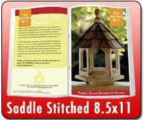 EDDM Postcard, Brochures | Saddle Stitched 5.5 x 8.5 - Catalog Printing - 512.573.1977