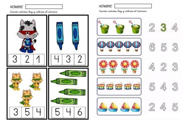 Fichas de matemáticas infantil-1