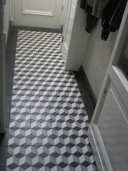 Carreaux ciment antiekbouw carreaux carrelage pinterest for Carrelage hall d entree