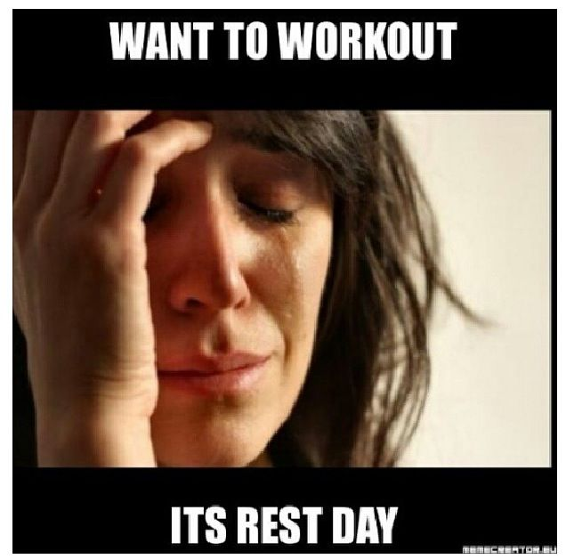 I Hate Rest Day