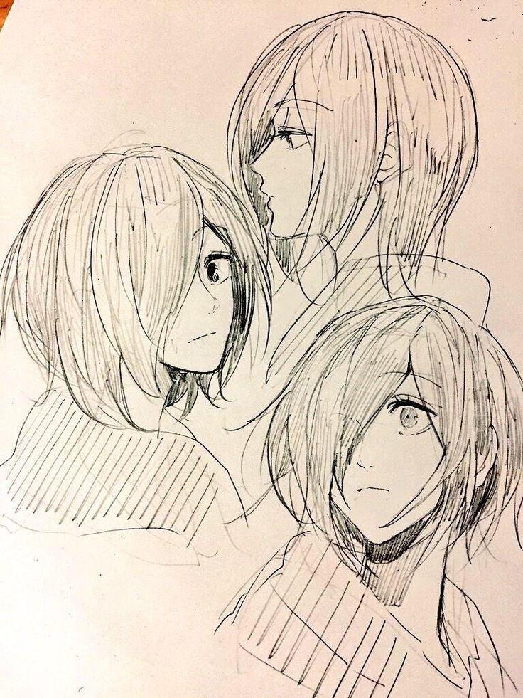 I love how fluid those sketches are! Desenhos aleatórios