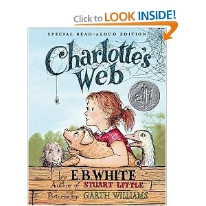 I forgot how much I loved this book until I read it to my kids.  I got all choked up when Charlotte died.  :(