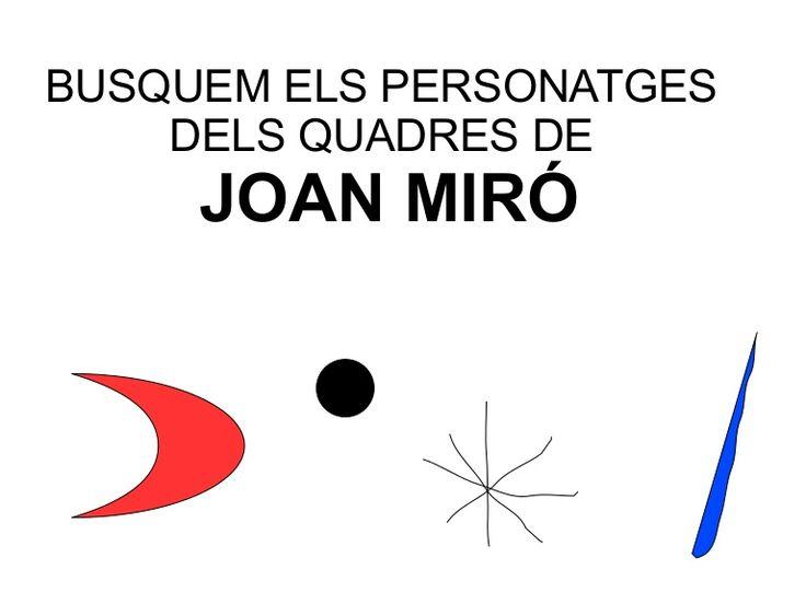 Personatges Miró