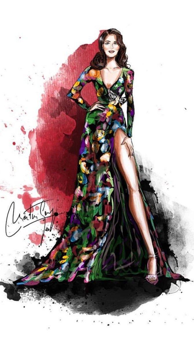 Lana Del Rey at the MTV EMAs #art by Georg Martin