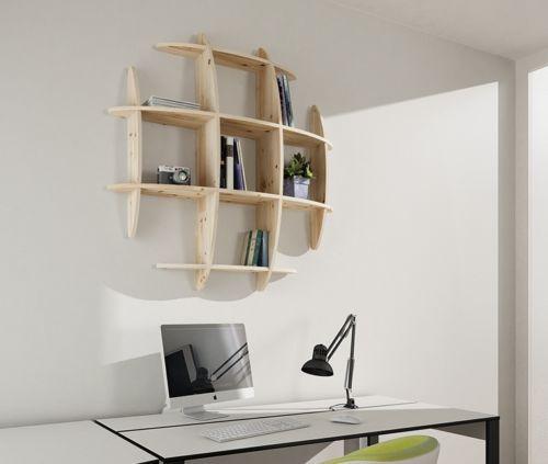 hanging wall shelf floating shelves wandregal rak dinding