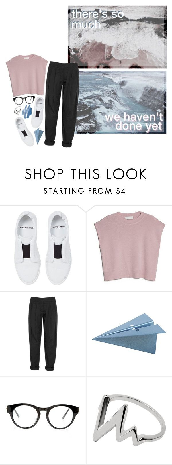 """COMING BACK NOW"" by glowing-eyes ❤ liked on Polyvore featuring Pierre Hardy, MANGO, Alexander Wang, CB2 and 21 Men"