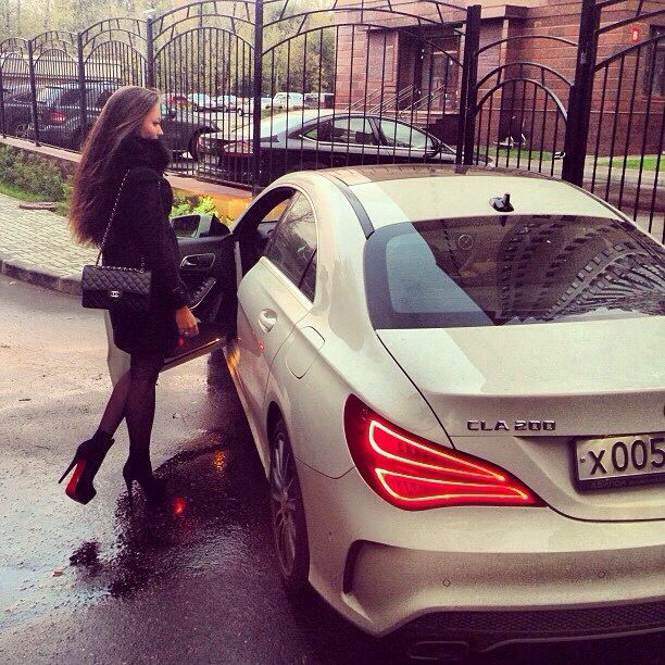 Mercedes CLA - future car fo sho. The Loubs will be mine ...