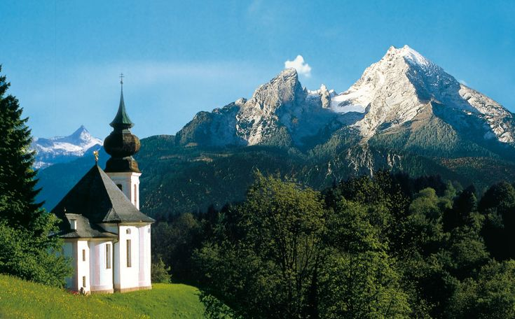 Church, Berchtesgaden, Germany