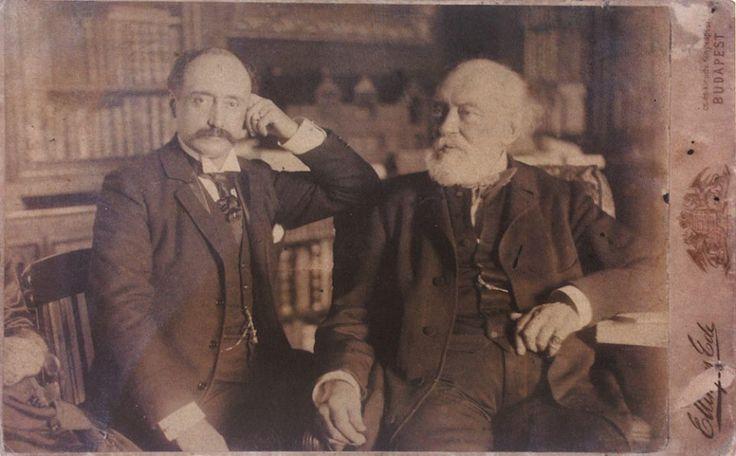 Kossuth Lajos fiával, Ferenccel