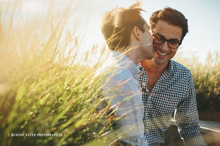 Geoffrey and Jay's Engagement Session ( Hudson River Photographer - Rhinebeck, New York ) - See more: http://www.hudsonriverphotographer.com/two-handsome-guys-engagement-session/