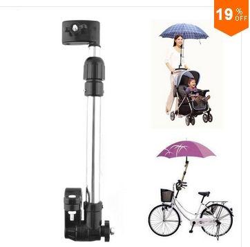 Adaptador de paraguas para la bici o para la sillita. Vale muy poquito