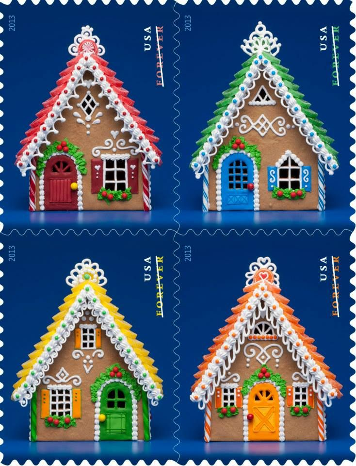 Gingerbread House Tips from the Baker Behind the New Stamps — Food News