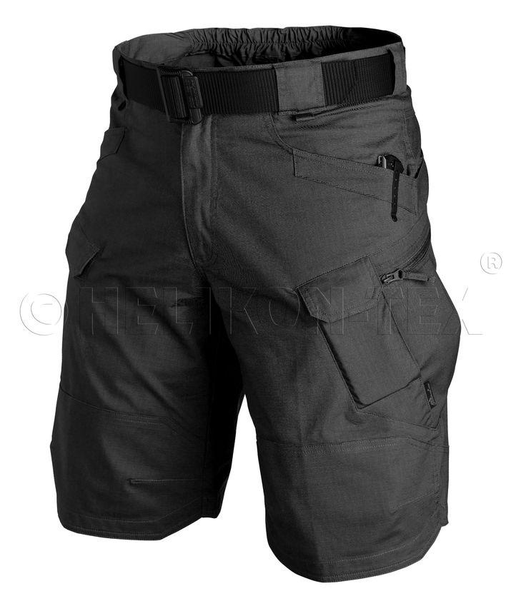 Helikon Tex UTP ® (Urban Tactical Shorts) kurze Hose - Schwarz (S)