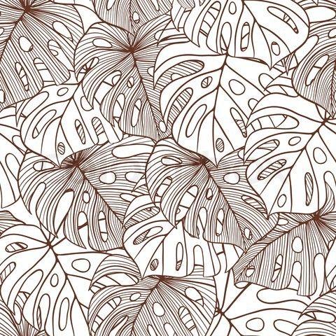Palm tree Seamless pattern