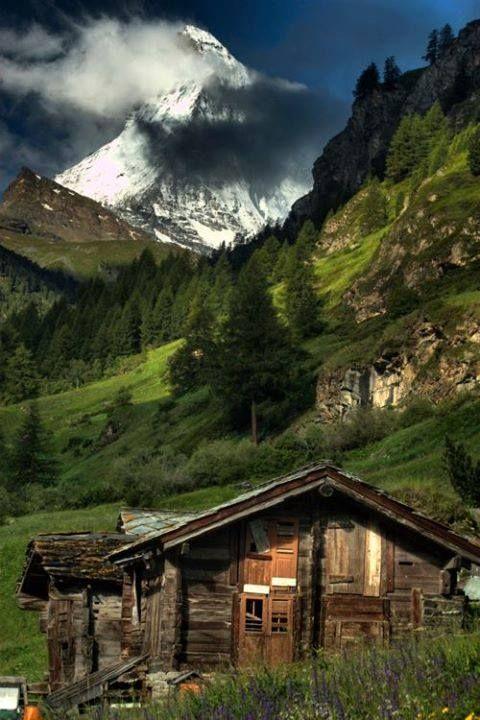 Matterhorn, Zermat, Switzerland. Pretty sure this is where Heidi would have taken place!