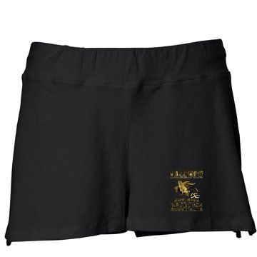 DESERT CAMO LADIES GYM SHORTS A$39.95 + Postage Sizes: S - 2XL Available in Black