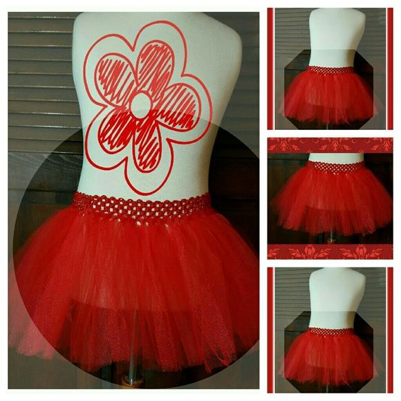 🆕JOGGING💃💃 RED SOFT TULLE TUTU SKIRT 🆕JOGGING 💃💃RED SOFT TULLE, ONE LAYER JOGGING TUTU SKIRT. CUSTOM MADE; CHOOSE YOUR COLOR  WEAR IT OVER YOUR JEGGINS,SHORTS, TIGHTS.👖👟..WEAR IT AS A BATHING SUIT COVER UP🏊♀️🤽♀️🤽♂️ FOR THE BEACH🐚, BY THE POOL🏊♀️🏊♂️, HAVING FUN AT THE PARK🎡🎢DISNEY USES ARE ENDLESS...  LOOK & STAY 🆒😎🆒😎🆒!!!! THIS LISTING IS FOR SIZES➖ Preemie- thru 2T. PLEASE INDICATE ↔SIZE & COLOR NEEDED. IF YOU NEED A LARGER SIZE,  PLEASE TAG ME....IT CAN BE DONE AT…
