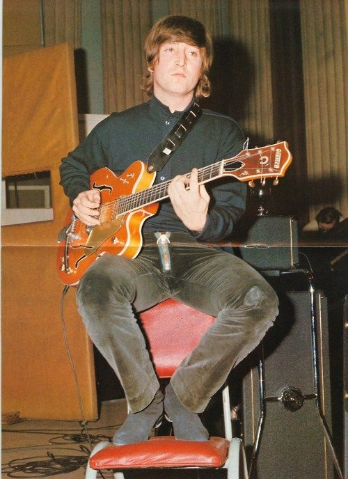 John Lennon acoustic young