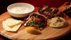 Ep23 - Chicken Shawarma with Hummus and Flatbread