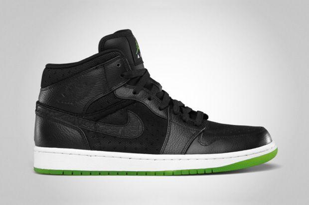 Nike Air Jordan 1 Phat Black / Action Green