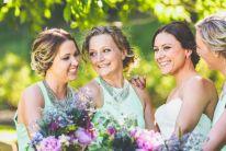 whimsical wedding bouquets. | Owl + Pussycat Events Peony, sea holly, gum, hydrangea