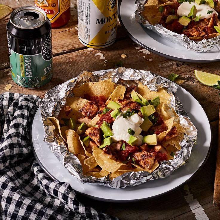 Grilled chicken nachos   – Parties and Entertainment