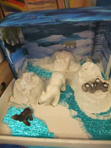 Image result for Polar Bear Habitat Diorama