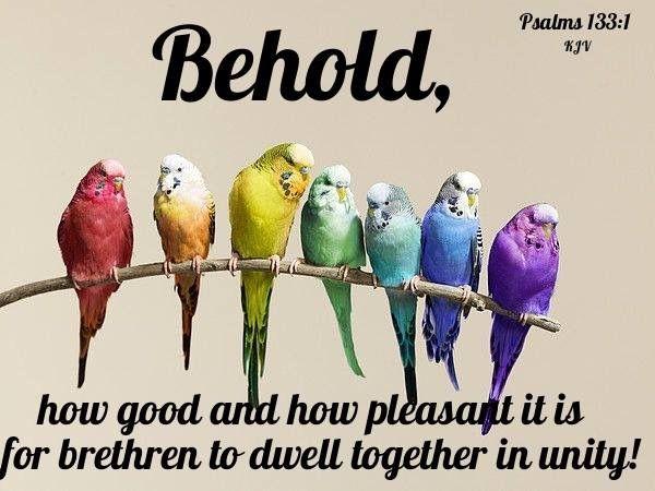 Psalm 133:1 KJV