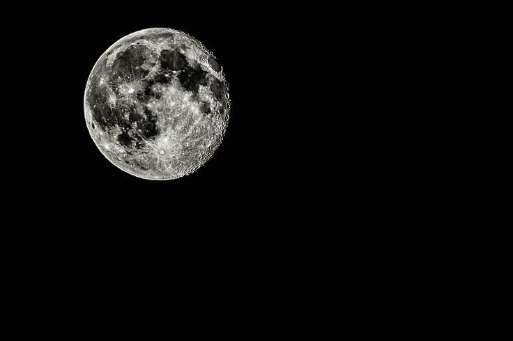 Den Mond zu fotografieren ist nicht schwer: Das Endergebnis