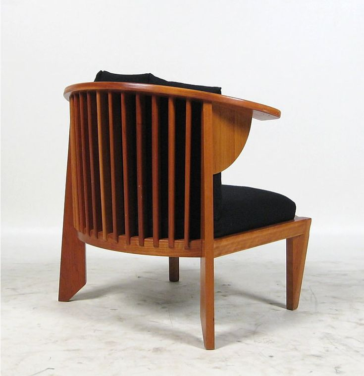 frank lloyd wright furniture frank lloyd wright friedman cassina lounge chair sessel 1986. Black Bedroom Furniture Sets. Home Design Ideas