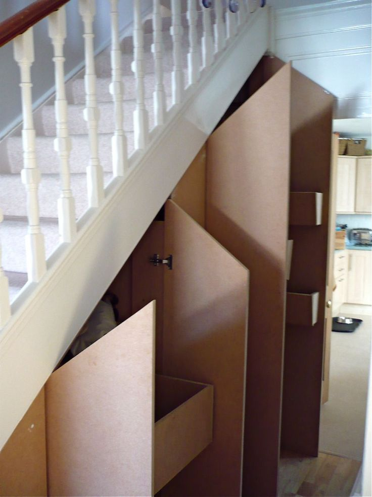 Image of Cupboard Under the Stairs Arrangement