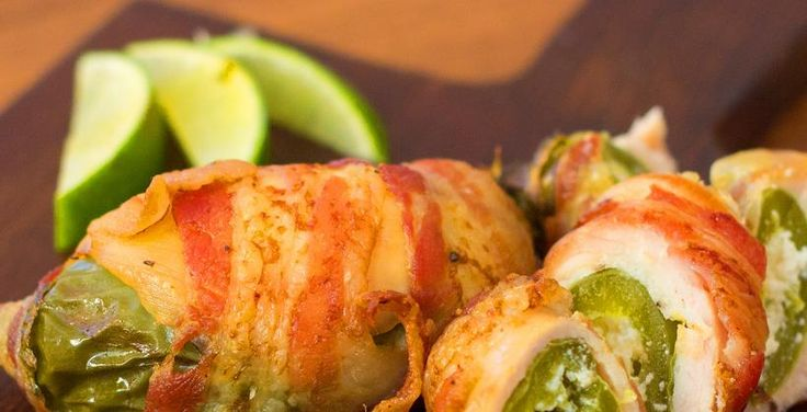 Get The Recipe: Jalapeno Popper Stuffed Bacon Chicken | Cooking Panda